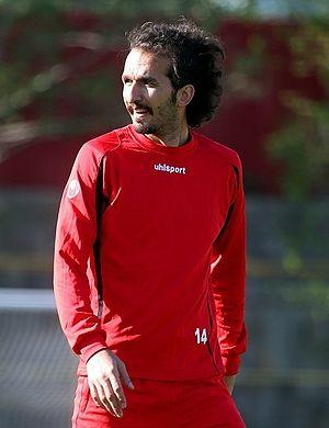 Mohammad Nouri (footballer) - Nouri in Persepolis training