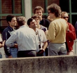 Mohamed Atta - Mohamed Atta (left) as a student in Germany, 1993