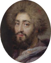 Mohammed Reza Bey, Persian Ambassador to France, during the reign of Louis XIV by Antoine Coypel.png