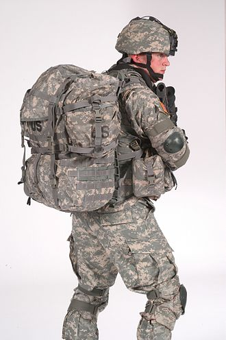 MOLLE - MOLLE-system U.S. Army