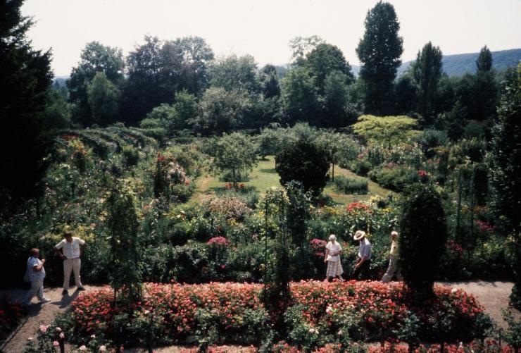 Monet's Garden 1989 Copyright Mitzi Humphrey