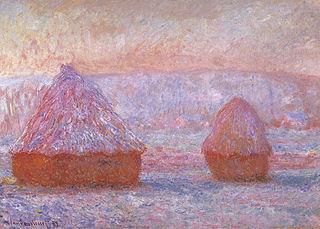 Les Meules, Giverny, effet du matin