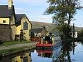 Monmouthshire and Brecon Canal, Baylis Bridge, Bridgend Inn, Gilwern - geograph.org.uk - 49781.jpg