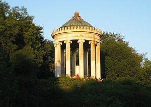 Monopteros - Image: Monopteros Englischer Garten Munich
