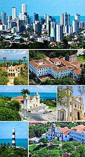 Olinda Municipality in Northeast, Brazil