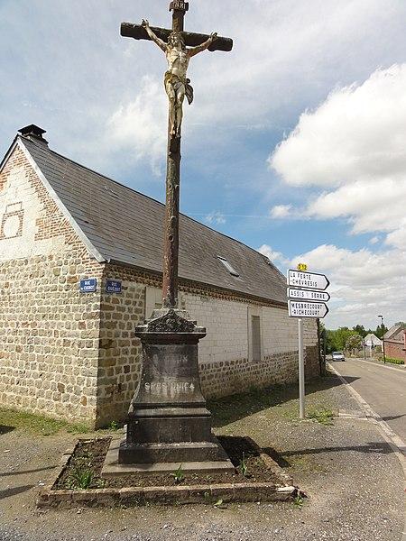 Montigny-sur-Crécy (Aisne) calvaire