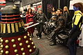 Montreal Comiccon 2015 - Dalek Clifton meets Wolverine and the Montreal X-Men (19267535719).jpg