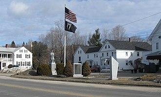 Alton, New Hampshire - Image: Monument Square Alton