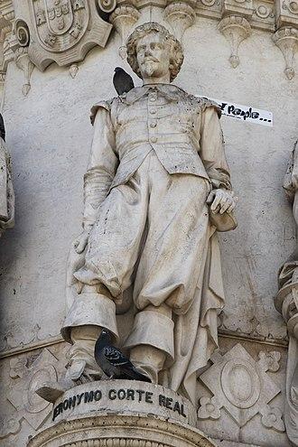 Corte-Real family - Image: Monumento a Luís de Camões 8513