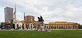 Monumento a Skanderbeg, Tirana, Albania, 2014-04-17, DD 03.JPG