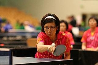 Moon Sung-hye South Korean para table tennis player