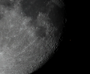 Aldebaran - Occultation of Aldebaran by the Moon