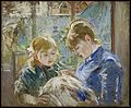 Morisot TheArtistsDaughterJulieWithHerNanny MIA 9640.jpg