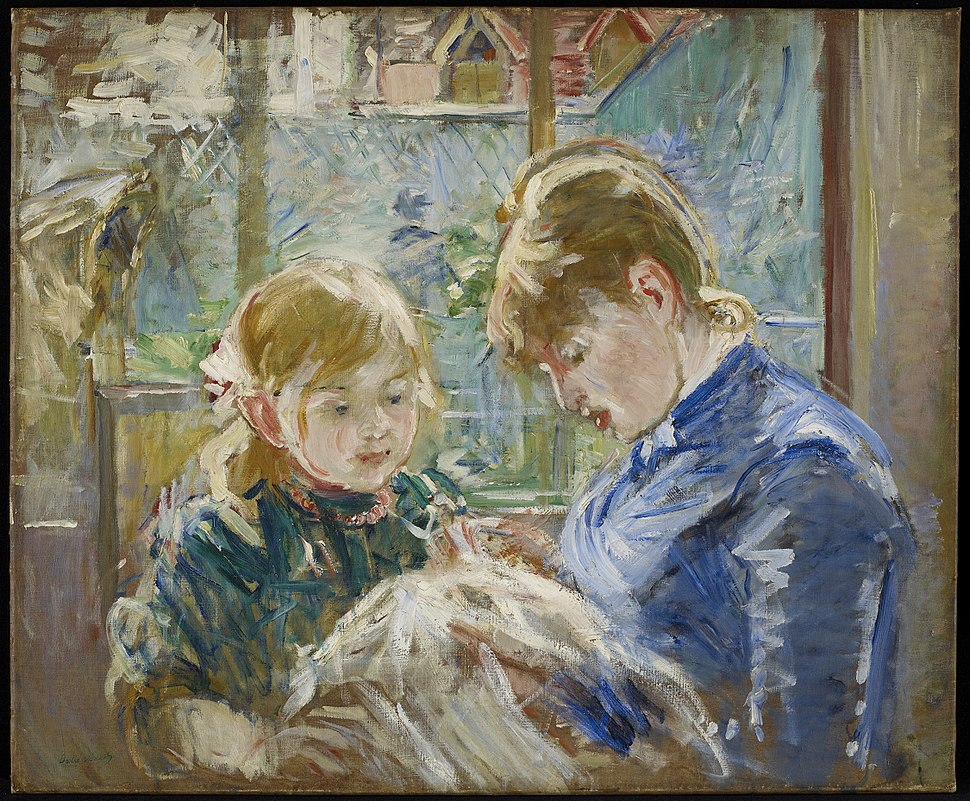 Morisot TheArtistsDaughterJulieWithHerNanny MIA 9640