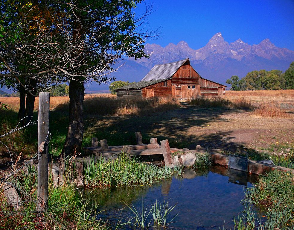 File Mormon Row Grand Teton National Park Jpg Wikitravel
