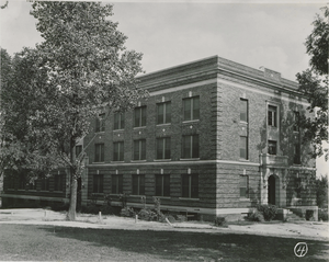 Agricultural and Technical College of North Carolina Historic District - Morrison Hall in 1926