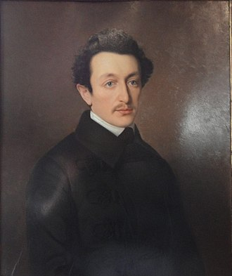 Moses Hess - Portrait of Moses Hess in 1846