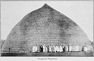 Dinguiraye - Mosquée de Dinguiraye ca. 1900