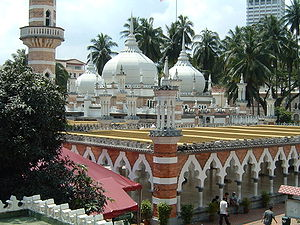 Jamek Mosque - Image: Mosque Jamek