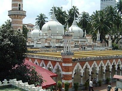 Bagaimana untuk pergi ke Masjid Jamek dengan pengangkutan awam - Tentang tempat tersebut