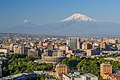 Mount Ararat and the Yerevan skyline (June 2018).jpg