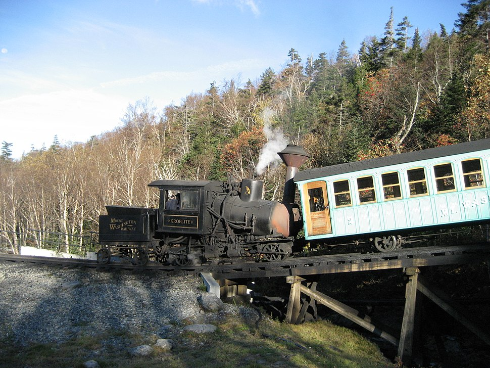 Mount Washington Cog Railway Start