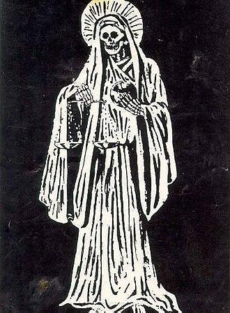 Santa Muerte - White Santa Muerte.