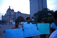Mumbai Terror Protest