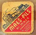 Musée Européen de la Bière, Beer coaster pic-156.JPG