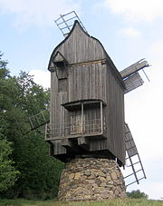 Museum of Folk Architecture and Ethnography in Pyrohiv, Windmill 2452-1.jpg