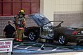 Mustang car fire at CVS on Key West Highway in North Potomac MD July 12 2012 (7575644742).jpg