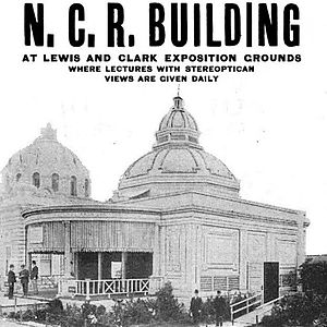 National Cash Register Building - The National Cash Register Building in 1905