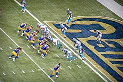St. Louis at home to Carolina in week 8 of the season 7fd9be810