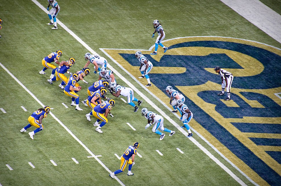 NFL Rams vs Panthers 2010