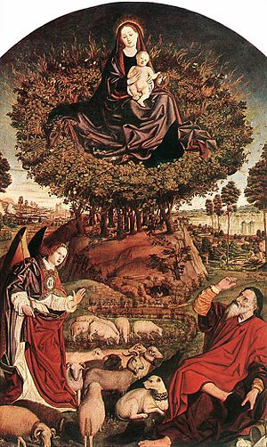 Moses and The Burning Bush, Nicholas Froment, ...
