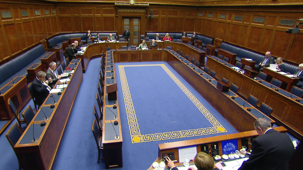 NI Assembly chamber
