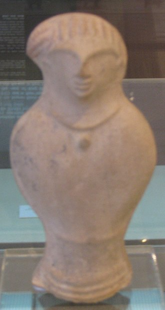 Bayt Nattif - Figurine discovered in Bayt Nattif