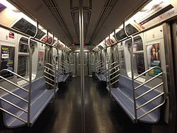 r143 new york city subway car. Black Bedroom Furniture Sets. Home Design Ideas