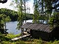 Naarijärvi vildmarks camp.1.Meänmaa.JPG