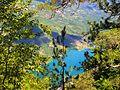 Nacionalni park Tara; Pogled na Drinu sa vidikovca Banjska stena 02. jpg.JPG