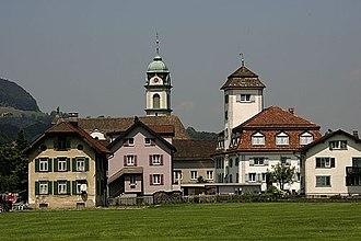 Glarus Nord - Näfels village