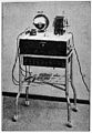 Nagelschmidt's diathermy apparatus. Wellcome M0014868.jpg