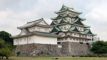 English: The keep of Nagoya Castle (名古屋城, Nago...