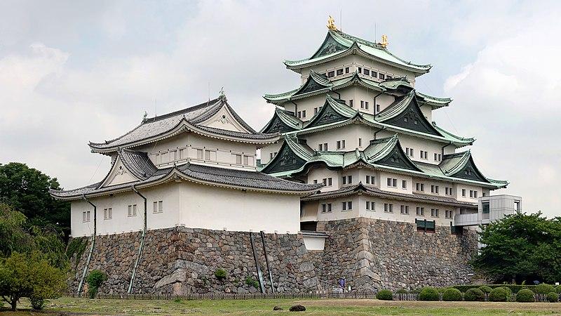 Ficheiro:Nagoya Castle(Larger).jpg