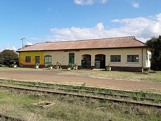 Railway stations in Kenya - Image: Nanyuki Station (overview)