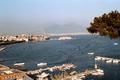 Napoli - Porto di Mergellina, Castel dell'Ovo e Vesuvio - 1973.png