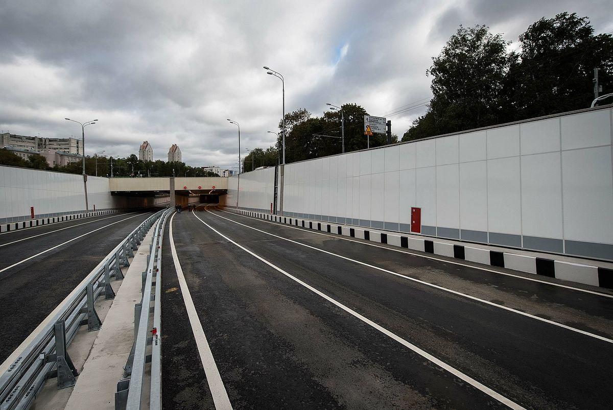 схема туннеля на дмитровском шоссе