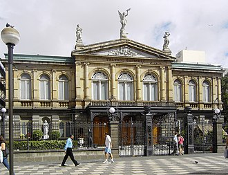 Hispanic - Image: National Theatre of Costa Rica