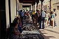 Native Americans selling goods in Santa Clara, California. (ad55497fa2ee4dd983241394e7dcea50).jpg