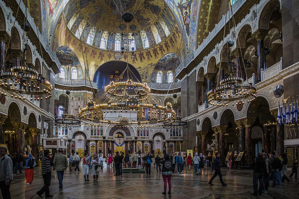 Cathédrale Saint Nicolas à Kronstadt, Saint Petersbourg. Photo de Ninaras
